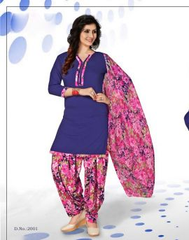 Miily 21 Patiyala Dress Material catalog at textile market