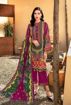 Mishri presents  Gulbagh vol 2  Karachi Dress Materials