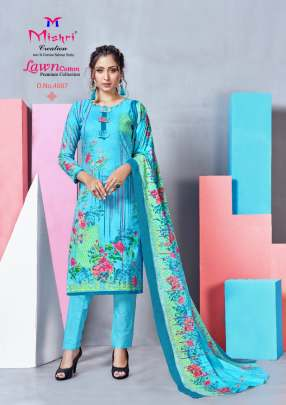 Mishri Lawn Cotton vol 4  Karachi Dress Material