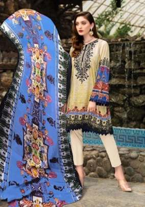 Mishri presents  Gulbagh  Karachi Dress Material