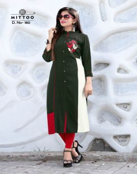 Payal 7 Mittoo Casual Wear Kurtis Catalogue
