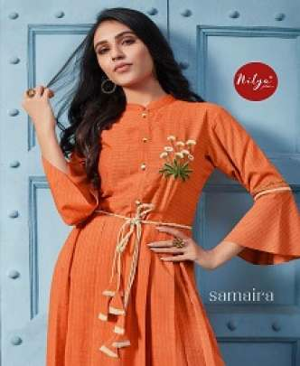 LT NITYA EMBROIDERED LONG