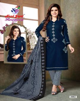 Nand gopal by Rosemeen vol 2 churidar dress materials