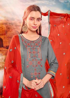 ORRLY 4005 SERIES NX EMBROIDERED JAM SILK