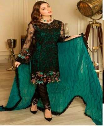 RAMASHA R 114 HEAVY EMBROIDERED