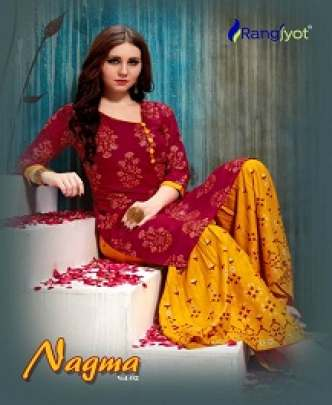 RANGJYOT NAGMA 2 RAYON SHARARA WITH PRINTED