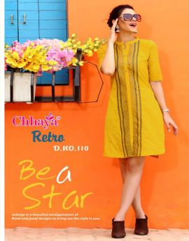 Chhaya Retro Casual wear kurtis catalog in whlesale price