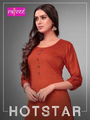 Rajvee presents Hotstar Casual Wear Kurti Collection