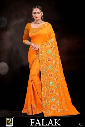 Ranjna presents Falak Designer sarees  collection