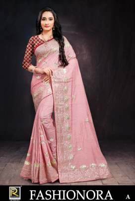 Ranjna presents fashionora designer sarees collection