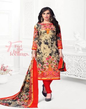 Razia Sultan 11 Cotton Dress Material