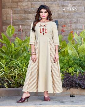 Riwaz By Mittoo party wear Long Kurtis Collection