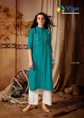 Riya presents  Anokhi vol  2  Stylish Kurti With Bottom
