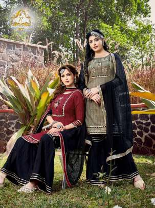 Rt presents Tjori 2 Fancy Lining Ethnic Wear Readymade Collection