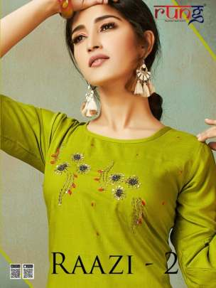 Rung Present Raazi Vol 2 Casual wear kurti