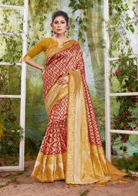 Sangam Indian Culture Festive Wear Silk Sarees Collection
