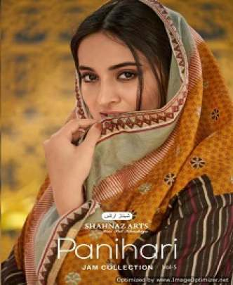 SHAHNAZ PANIHARI 5 FANCY EMBROIDERED AND PRINTED JAM