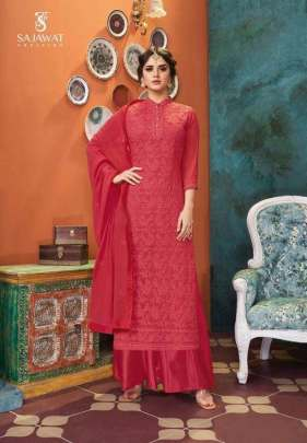 Sajawat presents  Lakhnavi vol 4 Ready Made Collection
