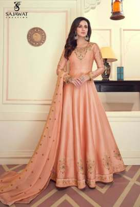 Sajawat presents  Mandora  vol 1  Festive Wear Ready Made Suit