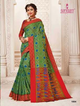 Sangam presents Rajshahi Handloom Silk Sarees