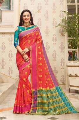 Sangam  presents Tantra silk Sarees collection