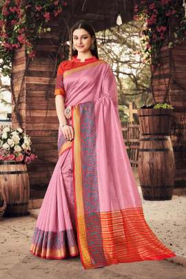 Sanskar present Rajgharana  Casual Wear Saree collection