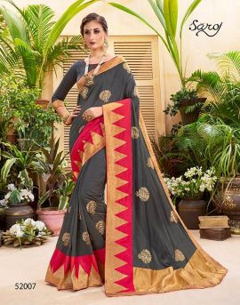 Saroj by Sanskruti Heavy Silk Designer Saree Collection