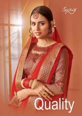 Saroj Present Quality sarees Catalogue