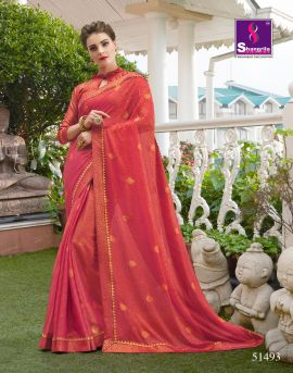 Shangrila Presents Fancy panghat  Brasso Weaving Pattern Saree collection