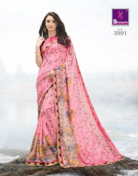Shangrila present Inox vol 8 Weightless Georgette Printed Saree Collection