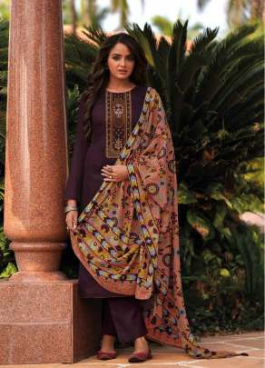 Shree presents  Chevron Designer Dress Material