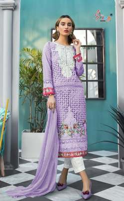 Shree presents  Mariya B Lawn Block Buster vol 5 Nx Pakistani Salwar Suits
