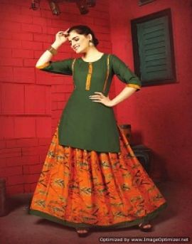 Skirt House vol 3 by trendy fashion party wear kurtis catalogue