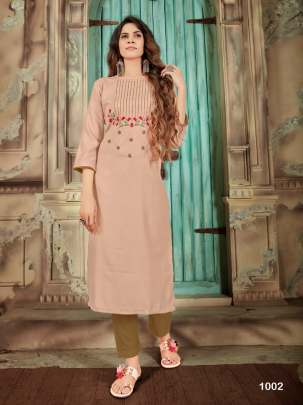 Syasii present Light Galaxy casual wear  Kurtis Collection