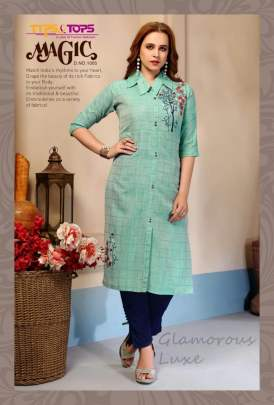 Tips&Tops presents Magic party wear kurti collection
