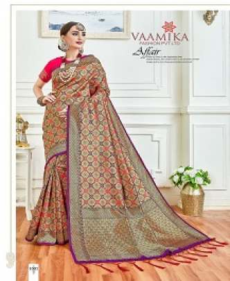VAAMIKA BUTTERFLY 2 HEAVY ART SILK