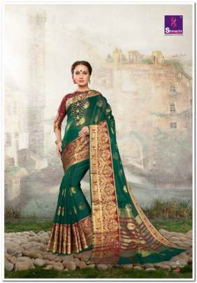 Vanshika Silk by shangrila designer cotton sarees catalogue