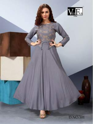 Vf  Present  Milano Kurti With Bottom
