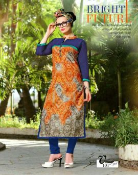 Village Girl vol 1 Long Kurtis catalog