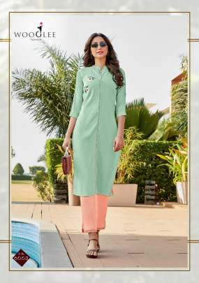 Wooglee presents Sparsh  fancy kurti with bottom