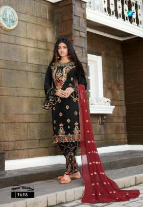 Y.C presents Meenaz  Designer Salwar Suits Collection