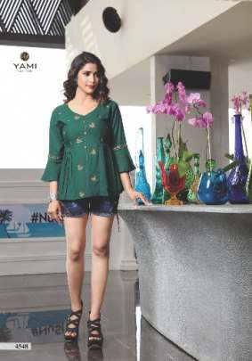 Yami presents  Topsy vol 12  Western Short Tops Collection