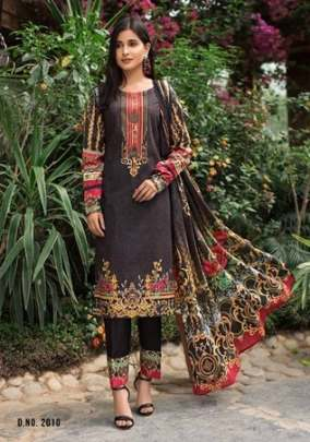 Yashika presents  Mehnoor vol  2  Karachi Dress Material
