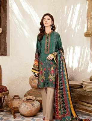 Yashika presents  Mohterma vol  1   Karachi Dress Material