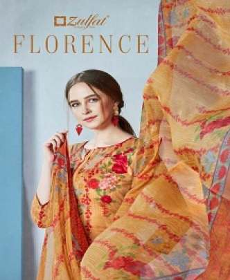 ZULFAT FLORENCE DIGITAL PRINTED PURE