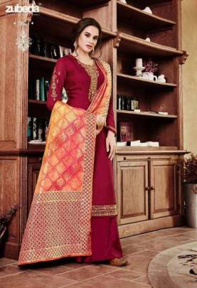 Zubeda  presents Niara designer  Salwar Suits