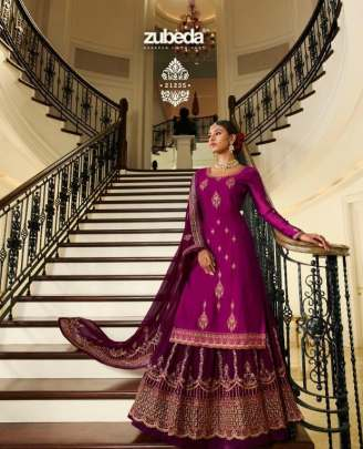 Zubeda presents  Yuganta  Festive Wear Designer Salwar Suits