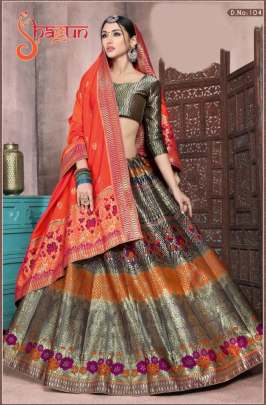 ALISHKA SHAGUN BANARASI SILK WEDDING WEAR
