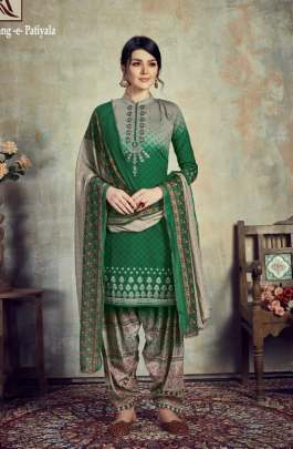 Alok present   Range patiyala party wear collection