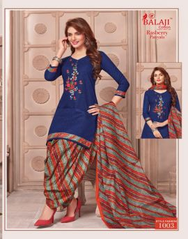 Rasberry balaji printed dress materials